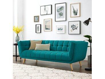 Mørteens Sofa Cameta 3-Sitzer Türkis Webstoff 226x76x90 cm