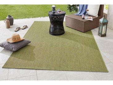 Bougari In-/Outdoor-Teppich Match Pistaziengrün Rechteckig 120x170 cm (BxT) Modern Kunstfaser