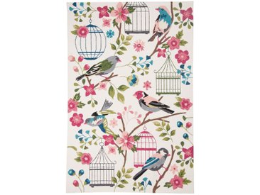 In-/Outdoorteppich Rosetta Birds