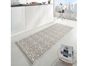 Zala Living Läufer Creation Sand/Beige Modern 80x0.8x200 cm (BxHxT) Kunstfaser Rechteckig