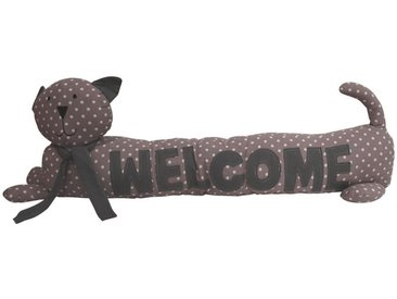Zugluftstopper Hund Welcome