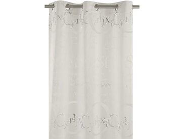 Apelt Ösenschal Times Weiß Modern 122x245 cm (BxH) 70% Viskose/30% Poleyester