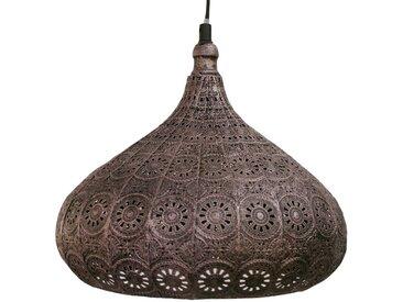 Eglo Pendelleuchte Melilla 2 Stahl Bronze 29x110x29 cm (BxHxT) 1-flammig E27