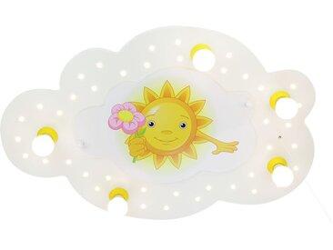Deckenleuchte Sonne mit Blume 5/40