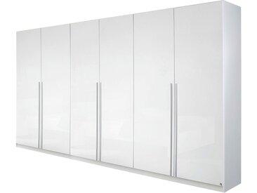 Rauch Pack´s Drehtürenschrank Lorca Hochglanz Weiß 271x210x54 cm (BxHxT) 6-türig Spanplatte Modern