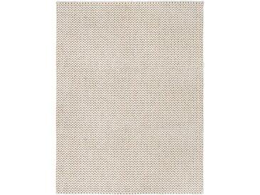 Wohnidee Wollteppich Wohnidee Morten Creme Rechteckig 70x140 cm (BxT) Wollfilz