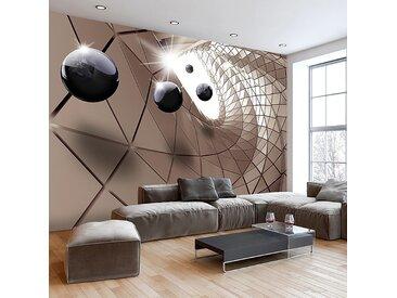 Artgeist Vliestapete Abstract Utopia Premium Vlies Metallisch Rechteckig 300x210 cm (BxH)