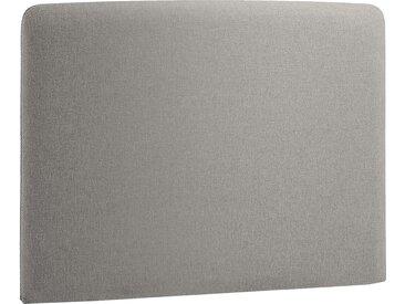 Norrwood Kopfteil Feda 90x200 cm Webstoff Grau