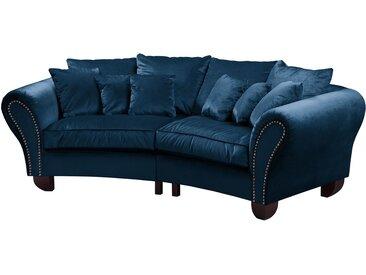 Jack & Alice Bigsofa Sells Marineblau Samt 227x95x108 cm