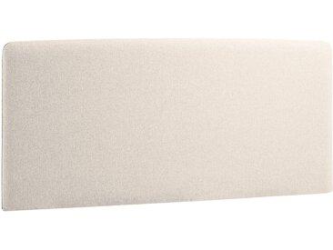 Norrwood Kopfteil Feda 160x200 cm Webstoff Beige