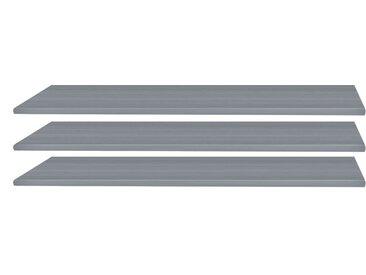 Wimex Einlegeboden Glauzig Grau 87x2x50 cm (BxHxT) Spanplatte
