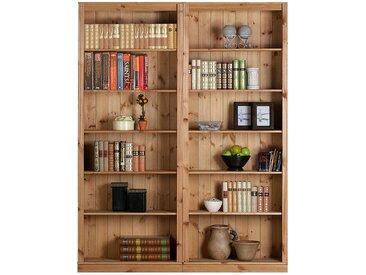 Maison Belfort Louis Bücheregale Massivholz Kiefer 148x219x34 cm (BxHxT)