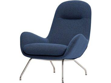 Studio Copenhagen Loungesessel Lannister Blau Webstoff 83x95x91 cm (BxHxT)