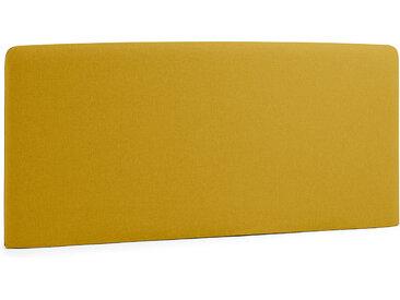 Kave Home - Dyla Kopfteil 168 x 76 cm senfgelb