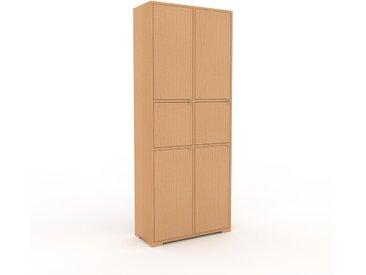 Aktenschrank Buche - Flexibler Büroschrank: Türen in Buche - Hochwertige Materialien - 79 x 196 x 35 cm, Modular