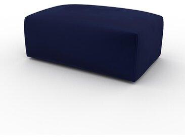 Polsterhocker Samt Königsblau - Eleganter Polsterhocker: Hochwertige Qualität, einzigartiges Design - 100 x 42 x 64 cm, Individuell konfigurierbar