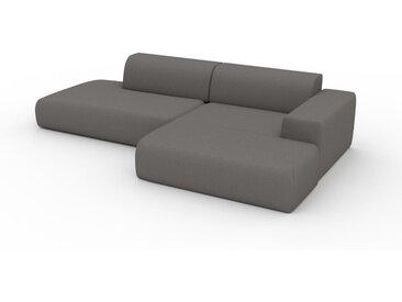 Ecksofa Taupegrau - Flexible Designer-Polsterecke, L-Form: Beste Qualität, einzigartiges Design - 296 x 72 x 168 cm, konfigurierbar