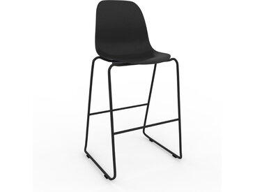 Barhocker in Schwarz 49 x 112 x 58 cm einzigartiges Design, konfigurierbar