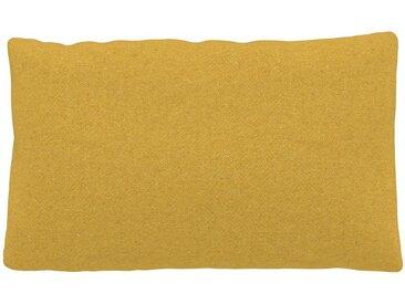 Kissen - Rapsgelb, 30x50cm - Wolle, individuell konfigurierbar