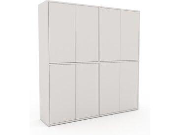 Highboard Weiß - Elegantes Highboard: Türen in Weiß - Hochwertige Materialien - 152 x 157 x 35 cm, Selbst designen