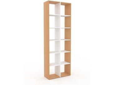 Bücherregal Buche, Holz - Modernes Regal für Bücher: Hochwertige Qualität, einzigartiges Design - 79 x 233 x 35 cm, konfigurierbar