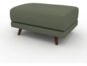 Polsterhocker Olivgrün - Eleganter Polsterhocker: Hochwertige Qualität, einzigartiges Design - 80 x 42 x 60 cm, Individuell konfigurierbar