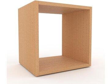 Lowboard Buche, Holz - Designer-TV-Board: Hochwertige Qualität, einzigartiges Design - 41 x 41 x 35 cm, Komplett anpassbar