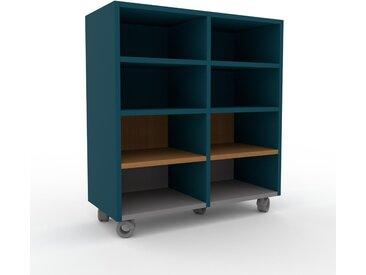 Regalsystem Blaugrün - Flexibles Regalsystem: Hochwertige Qualität, einzigartiges Design - 79 x 87 x 35 cm, Komplett anpassbar