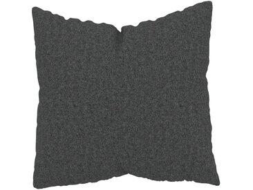 Kissen - Steingrau, 50x50cm - Wolle, individuell konfigurierbar