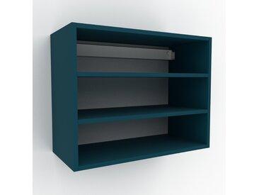 Hängeschrank Blaugrün - Moderner Wandschrank: Hochwertige Qualität, einzigartiges Design - 77 x 61 x 35 cm, konfigurierbar