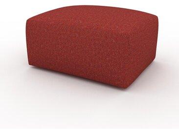 Polsterhocker Blutorange - Eleganter Polsterhocker: Hochwertige Qualität, einzigartiges Design - 80 x 42 x 64 cm, Individuell konfigurierbar