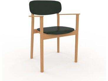 Armlehnstuhl in Tannengrün 52 x 82 x 58cm einzigartiges Design, konfigurierbar