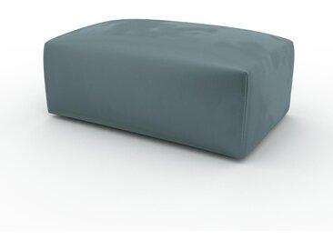 Polsterhocker Samt Ozeangrün - Eleganter Polsterhocker: Hochwertige Qualität, einzigartiges Design - 100 x 42 x 64 cm, Individuell konfigurierbar