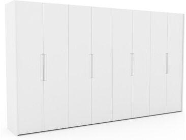 Kleiderschrank Weiß - Individueller Designer-Kleiderschrank - 404 x 233 x 62 cm, Selbst Designen, nur bei MYCS