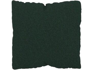 Kissen - Tannengrün, 40x40cm - Wolle, individuell konfigurierbar