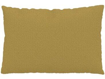 Kissen - Senfgelb, 40x60cm - Strukturgewebe, individuell konfigurierbar