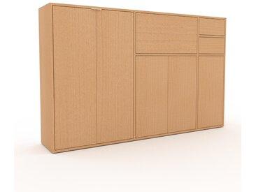 Highboard Buche - Highboard: Schubladen in Buche & Türen in Buche - Hochwertige Materialien - 190 x 118 x 35 cm, Selbst designen