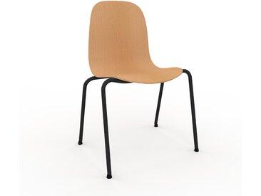 Holzstuhl in Buche 49 x 83 x 57 cm einzigartiges Design, konfigurierbar