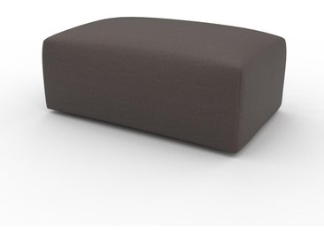 Polsterhocker Graubraun - Eleganter Polsterhocker: Hochwertige Qualität, einzigartiges Design - 100 x 42 x 64 cm, Individuell konfigurierbar