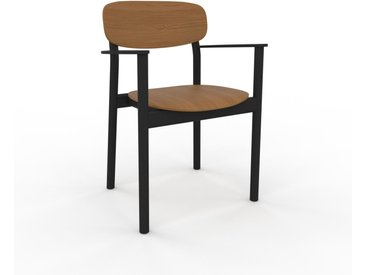 Holzstuhl in Eiche 52 x 82 x 58 cm einzigartiges Design, konfigurierbar