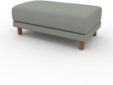 Polsterhocker Schiefergrau - Eleganter Polsterhocker: Hochwertige Qualität, einzigartiges Design - 100 x 42 x 60 cm, Individuell konfigurierbar