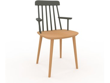 Armlehnstuhl in Buche 43 x 82 x 53cm einzigartiges Design, konfigurierbar