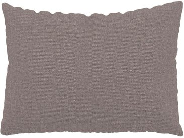 Kissen - Taupegrau, 48x65cm - Feingewebe, individuell konfigurierbar