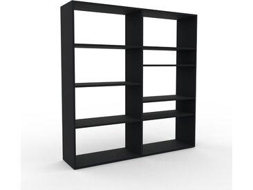 Schallplattenregal Schwarz - Modernes Regal für Schallplatten: Hochwertige Qualität, einzigartiges Design - 152 x 157 x 35 cm, Selbst designen