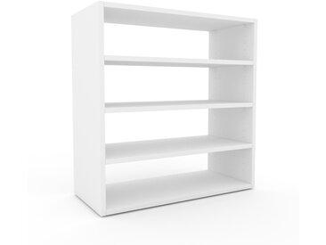 Regalsystem Weiß - Flexibles Regalsystem: Hochwertige Qualität, einzigartiges Design - 77 x 80 x 35 cm, Komplett anpassbar
