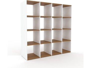Regalsystem Weiß - Flexibles Regalsystem: Hochwertige Qualität, einzigartiges Design - 156 x 157 x 47 cm, Komplett anpassbar