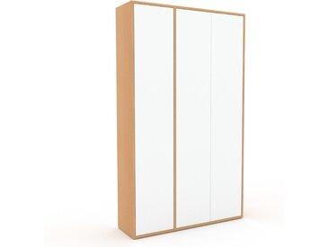 Schrank Weiß - Moderner Schrank: Türen in Weiß - Hochwertige Materialien - 116 x 195 x 35 cm, Selbst zusammenstellen