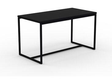 Beistelltisch Schwarz - Eleganter Nachttisch: Hochwertige Materialien, einzigartiges Design - 81 x 46 x 42 cm, Komplett anpassbar