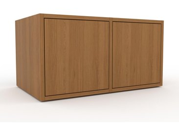 Rollcontainer Eiche - Moderner Rollcontainer: Türen in Eiche - 79 x 41 x 47 cm, konfigurierbar
