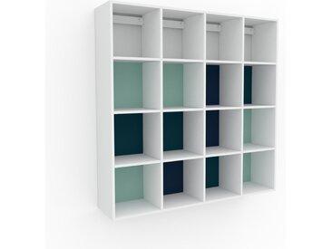 Hängeschrank Mint - Moderner Wandschrank: Hochwertige Qualität, einzigartiges Design - 156 x 157 x 35 cm, konfigurierbar